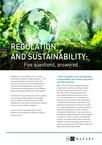 Regulation and Sustainability